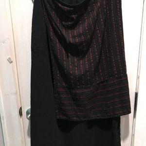 Oh My Gauze Black Maxi Skirt  Size 1